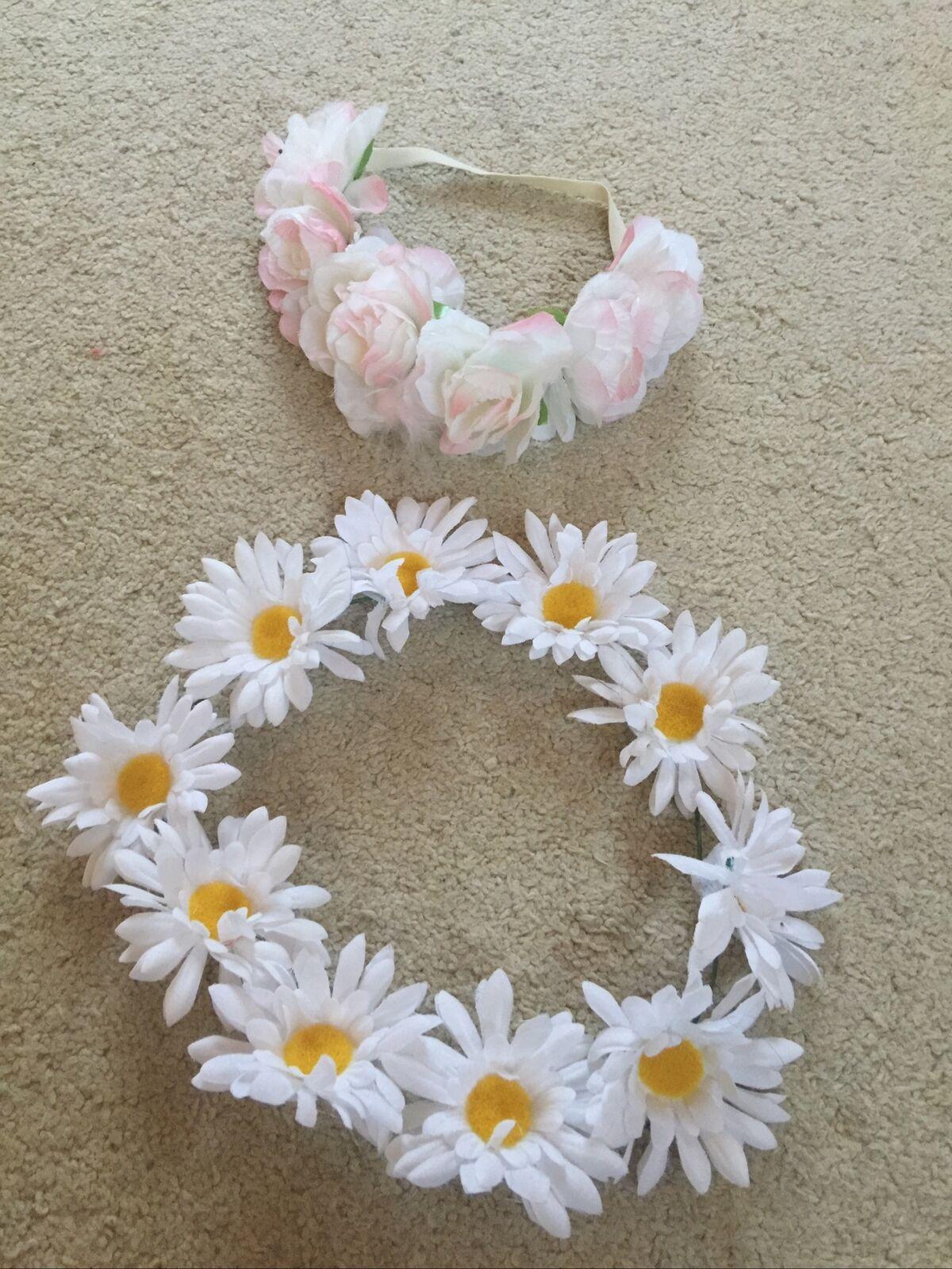 Flower Headbands Festival/fancy Dress