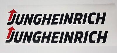 Jungheinrich forklift sticker sticker 7 pieces