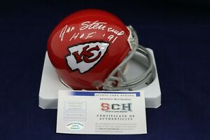 Jan-Stenerud-Signed-Autograph-KC-Chiefs-Mini-Helmet-W-HOF-91-SCH-Auth-27079