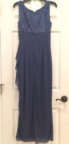 Empire Evenings Evening Of Alex Mother Taille Bride Blue Bolero Jacket Gown jurk y6bfg7