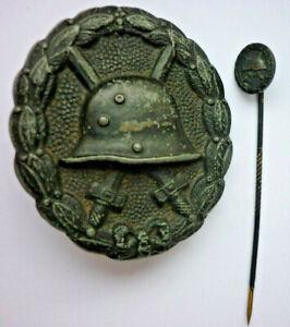Orden-la-Herida-Negro-con-Miniatura-1914-Art-4752