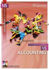 BrightRED-Study-Guide-N5-Accounting-by-William-Reynolds-NEW-Book-FREE-amp-FAST-D