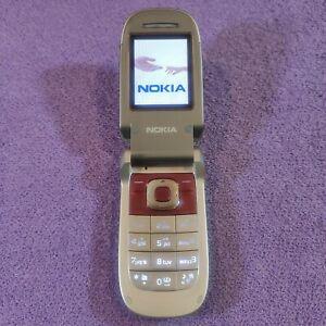 Telefono cellulare usato Nokia 2760-velluto rosso (sbloccato) completamente funzionante vedi foto