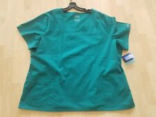 c4a5acaabe4 Cherokee Workwear SZ-3XL Core Stretch V- Neck Scrub Top Style-4727 -NWT  Auth.Cherokee Workwear SZ-3XL Core Stretch V- Neck Scrub Top Style-4727
