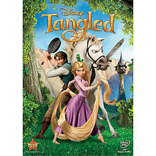 Tangled DVD Includes Slipcover! FREE Same Day Shipping! BUY NOW New Disney
