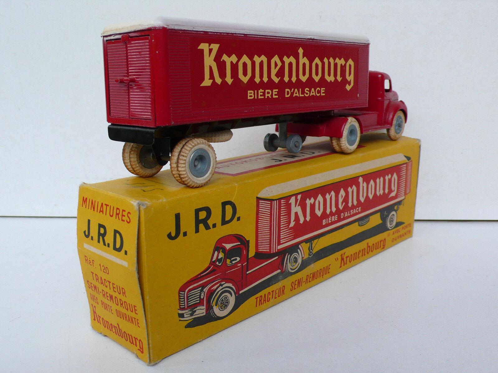 J R D  TRACTEUR TRACTEUR TRACTEUR BERLIET SEMIREMORQUE   KRONENBOURG  BOITE D'ORIGINE BEL ÉTAT   Outlet  425770