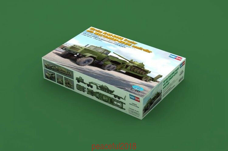 Hobbyboss 1 35 85513 Scale Ukraine KraZ-6446 Tractor w ChMZAP-5247G
