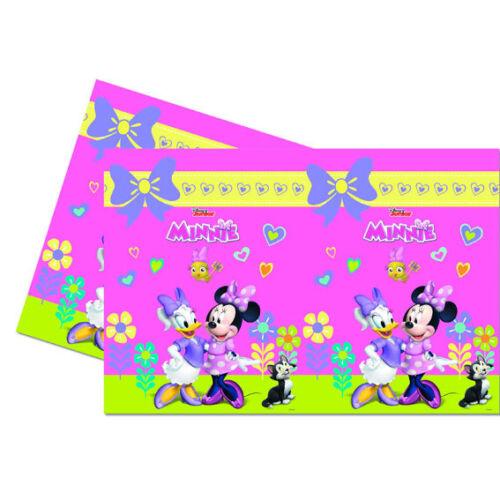 Minnie Souris Enfants Anniversaire Déco Minnie Mouse Fête Vaisselle Happy Helpers