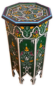 Image Is Loading Moroccan Wood Side End Table Corner Coffee Handmade