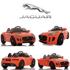 Ride On Car Kids Jaguar F-TYPE 12V Battery Power Wheels RC Remote Orange