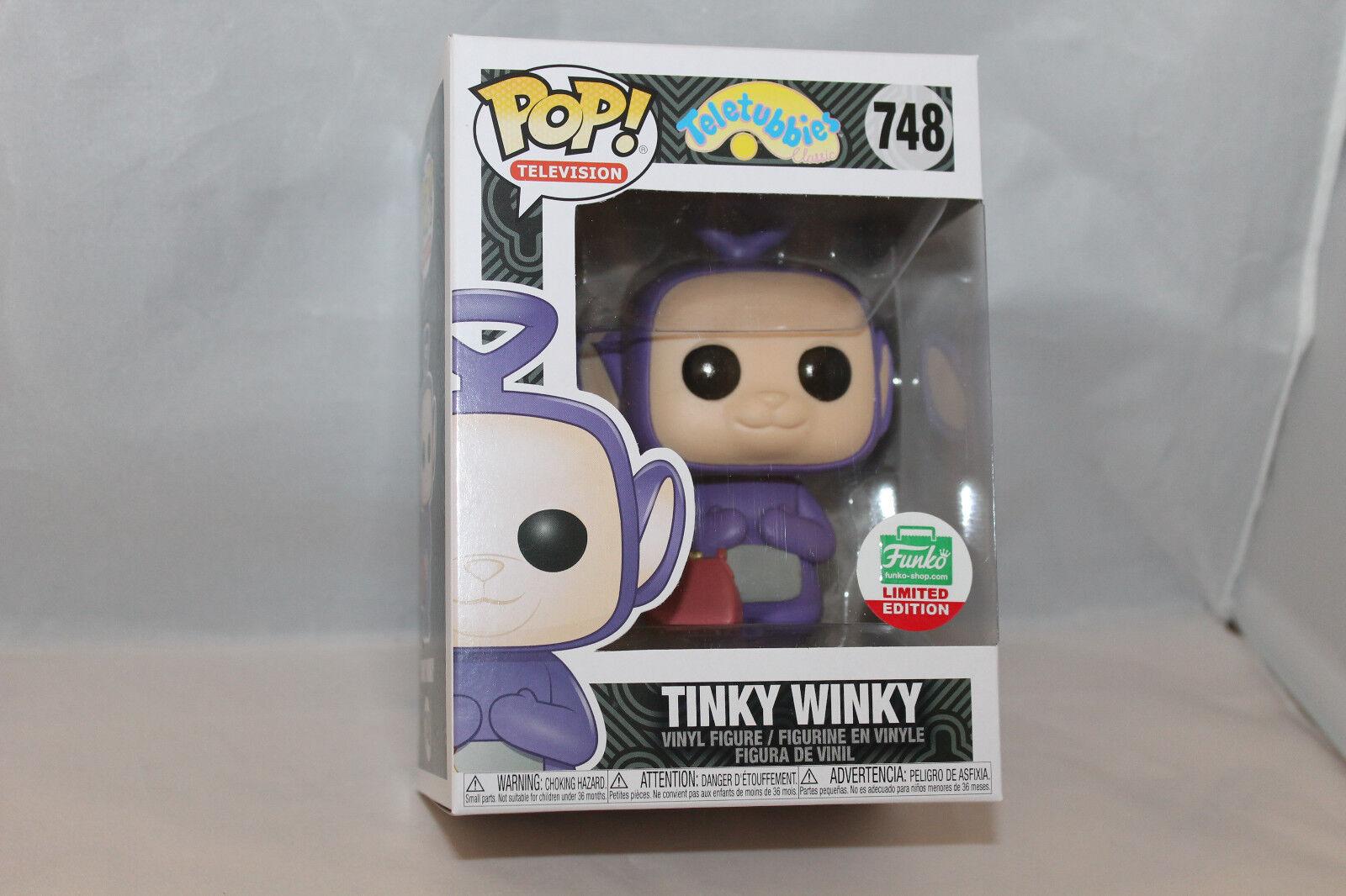 Funko Pop  Vinyl Figure - TV Tinky Winky - Funko Shop Exclusive