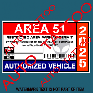 AREA-51-PARKING-PERMIT-DECAL-STICKER-FUNNY-NOVELTY-WARNING-DECALS-STICKERS