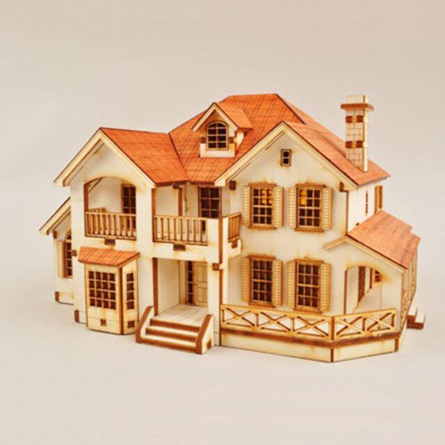 GARDEN HOUSE Model Kit Type C Wooden Assembly Educational Kits Youngmodeler New