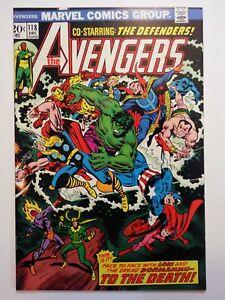 Avengers-118-1973-Marvel-Silver-Surfer-The-Defenders-Appearance-Hulk-Thor