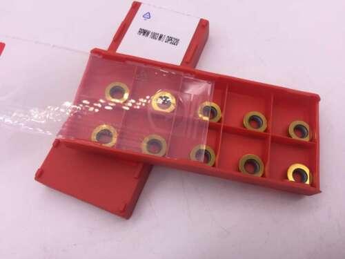 100Pcs RPMW1003 M0 DP5320 Inserts RPMT1003MO For steel parts R5 INSERT