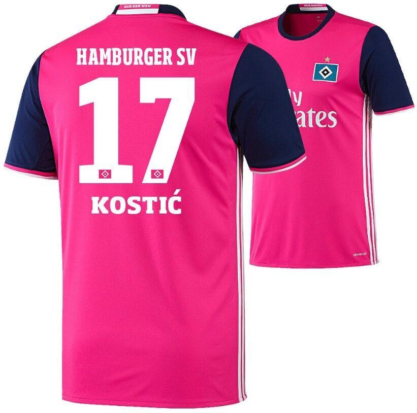 Trikot Adidas Hamburger SV 2016-2017 Away - Kostic 17  HSV Fussball  | Deutschland München