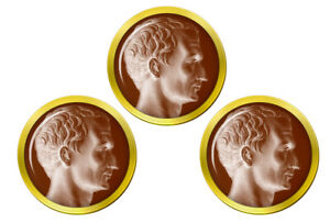 Julius-Caesar-Marqueurs-de-Balles-de-Golf
