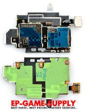 SIM SD Card Reader Holder Slot Flex for Samsung Galaxy S3 S III I9300