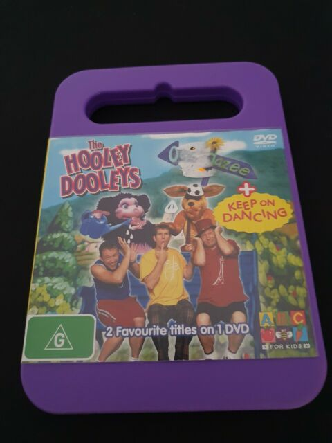 The Hooley Dooleys: Oopsadazee & Keep on Dancing. R4 AU PAL. DVD VERY RARE!!