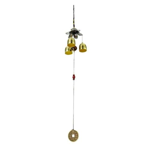 Outdoor Wind Chimes Living Yard Garden Tube Bell Hanging Ornaments 3 Bells #Z