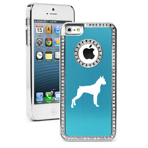 For-iPhone-4s-5-5s-5c-6-6s-Plus-Rhinestone-Crystal-Bling-Case-Cover-Boxer-Dog