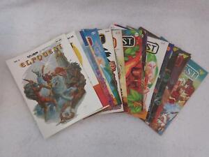 Lot of 20 ELFQUEST Comics Warp Graphics Issues #1-20 1978-1984