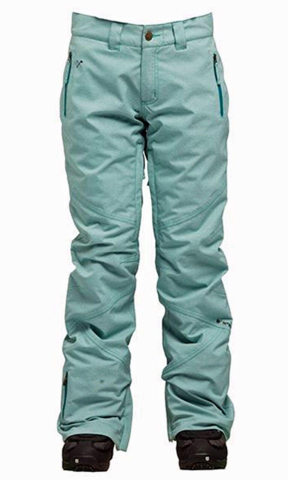 Bonfire Rubí Pantalones Lake azul Pantalones de Snowboard Talla XS
