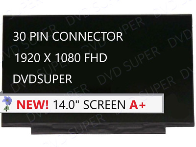 New Compatible with NV140FHM-N61 V8.0LCD only LCD Screen LED for Laptop