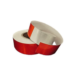"""DOT-C2 Reflective Conspicuity Tape Safety 15 FOOT ROLL, 2"""" x 15 ft Feet"""
