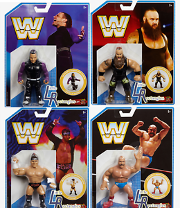 WWE MATTEL Retro SERIE 8 Wrestling Figuren STROWMAN HARDY IRON SHEIK RYDER ELITE
