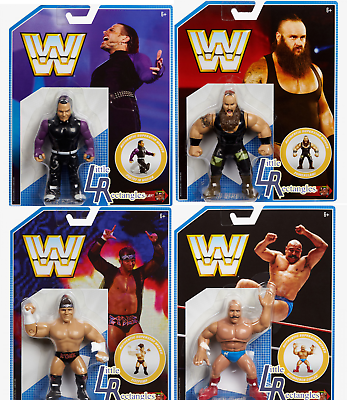 IN HAND WWE Figures Retro Series 8 Brand New Sealed Mattel
