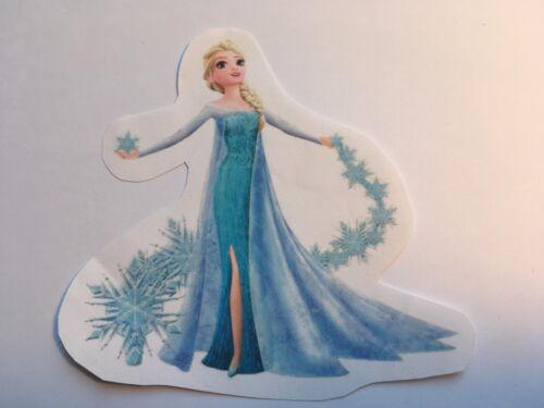 ♥ 1 Bügelbild  Eiskönigin Elsa GR  Transferfolie dunkle helle Stoffe ♥ Anna Elsa
