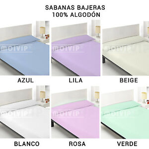 Sabana-BAJERA-de-Algodon-100-Ajustable-Sabanas-Bajeras-cama-90-105-135-150-180