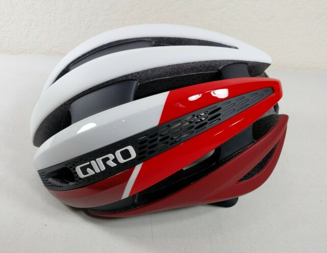 Giro Cinder MIPS Cycling Helmet Matte Gray Firechrome Medium