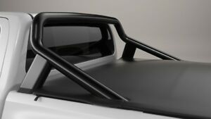 TOYOTA-HILUX-SPORTS-BARS-MATTE-BLACK-FROM-JULY-15-gt-SR5-A-DECK-NEW-GENUINE
