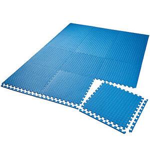 Set di 12 tappetini di protezione a incastro da fitness da - Tappetini ginnastica ikea ...