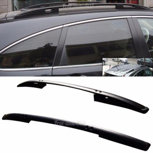 Fit for 2007-2011 Honda CRV  OE Factory Style Roof Rack Black Side Rail Bar