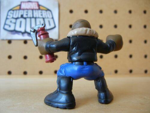 Marvel Super Hero Squad RARE NICK FURY w// Red Fire Extinguisher