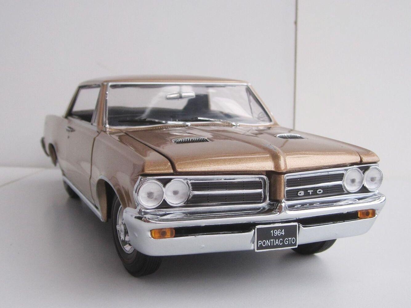 PONTIAC GTO 1964 1 18 Sun Star SunStar 1825 General Motors Gran Turismo BRONZE