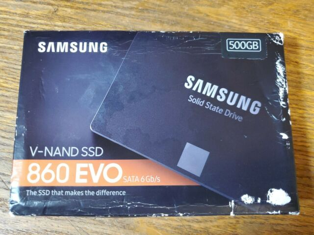Samsung 860 EVO MZ-76E500B/AM 500GB SATA 3 Internal Solid State Drive