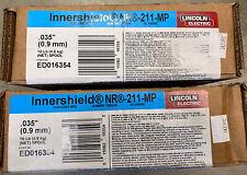 Lincoln Inner Shield Nr 211 Mp Flux Core Welding Wire 035 2ea 10lb Spool