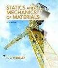 Statics and Mechanics of Materials by Russell C. Hibbeler (Hardback, 2016)