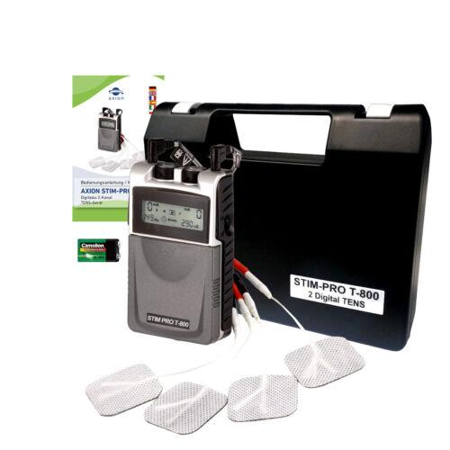 3 9 modes TENS préprogrammés Electrostimulateur TENS anti-douleur 2 canaux
