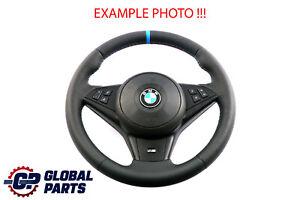 BMW-5-6-Serie-E60-E61-E63-E64-Neuf-Cuir-M-SPORT-Direction-Roue-M-THREADS