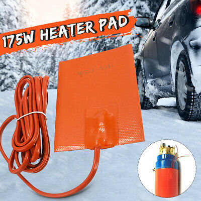 Engine Heater Oil Pan Tank Car Truck Start Pre Heater 175W 110V Silicone Hot Pad