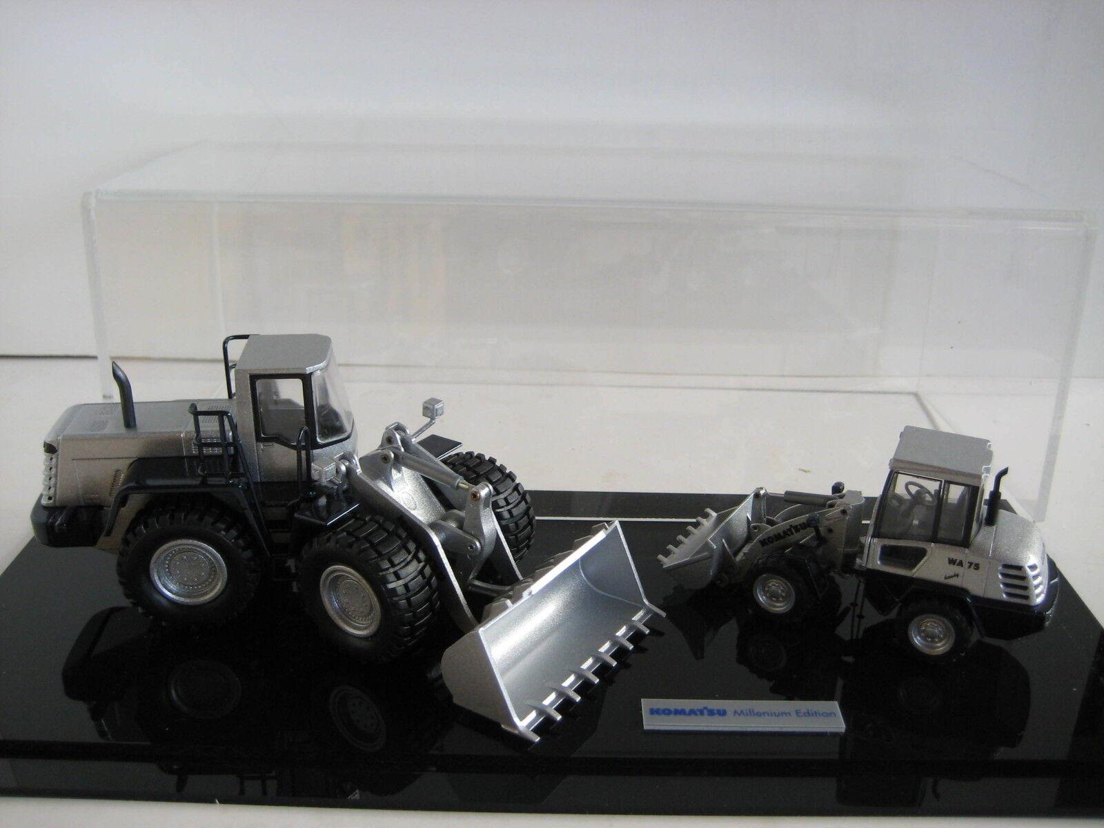 Komatsu wa 470 + 75 loader millenium edition conrad 1 50 original packaging