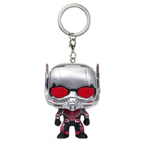 Keychain Funko Pocket Pop Thor Groot Dead Pool Vinyl Spider Iron Man Venom