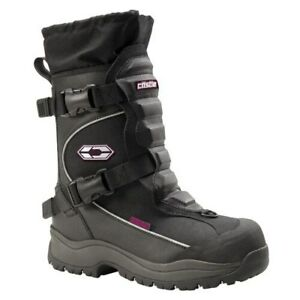 Castle X Barrier Women's Size 6 Black Insulated Snowmobile Boots 84-1306
