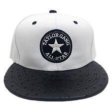 e7a3bdf35 Taylor Gang All Stars White Black Flock Snapback Cap for sale online ...