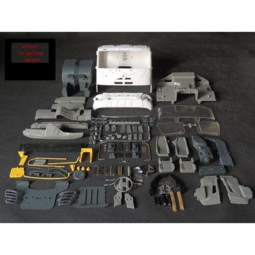 volvo FMX body kit  fit tamiya 1//14 tractor scania R470 R620  actros man chassis